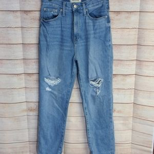 Madewell The Momjean Jeans